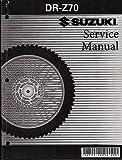 2008 SUZUKI MOTORCYCLE DR-Z70 SERVICE MANUAL NEW P/N 99500-40030-03E (277)