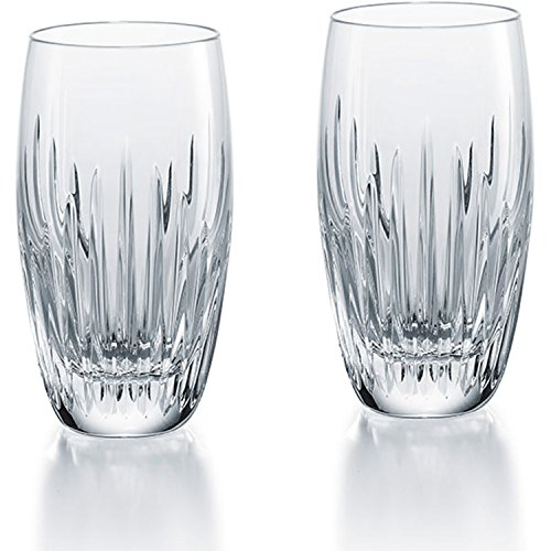 Baccarat Crystal Massena Highball - Clear - Set of 2 by Baccarat Crystal