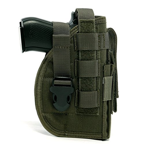 DYJ Adjustable Right Handed Tactical Molle Modular Belt Holster For Pistol(1000D) (Ranger - Modular Pistol Holster