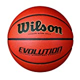 Wilson Evolution Indoor Game Basketball, Official Size (29.5'), Black