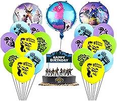 Sayala Suministros para fiestas de 28piezas,16 globos de ...