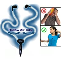 Smart&Safe® Hollow Air Tube Hands-free Headset - Reduces 98% of Harmful Radiation Emissions Generated By Cellphones - Compatible with iPhone & Blackberry and all Cellphones with 3.5mm Jack