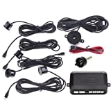 Docooler® Automotive Car Parking Reverse Backup Radar Sound Alert + 4 Sensors - Black