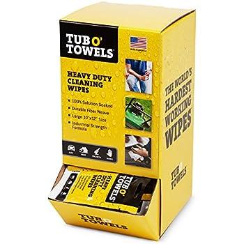 Amazon Com Tub O Towels Heavy Duty 10 Quot X 12 Quot Size Multi