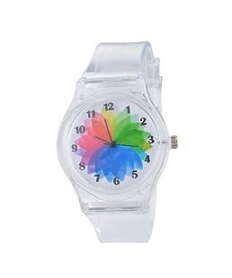 Loweryeah Plastic Transparent Jelly Watch Quartz Watch 22.5cm