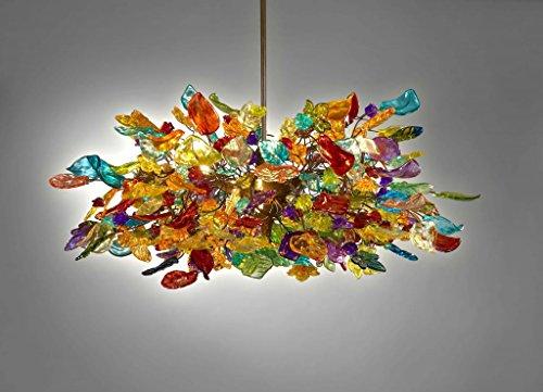 Ceiling Lights - Colorful flower Chandelier - Modern Chandeliers - Pendant lighting