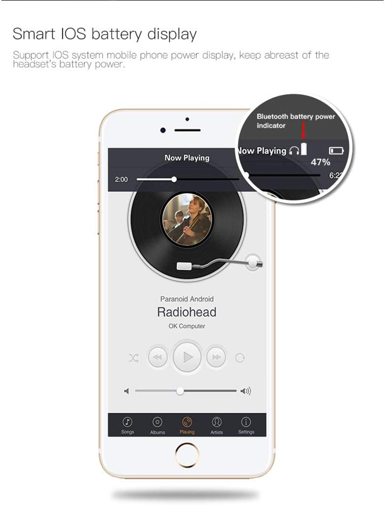 C8 TWS Bluetooth Headset 5.0, True