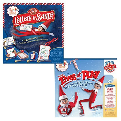 The Elf On The Shelf Play Bundle - 2pcs - Elves At Play Kit and Letters To Santa