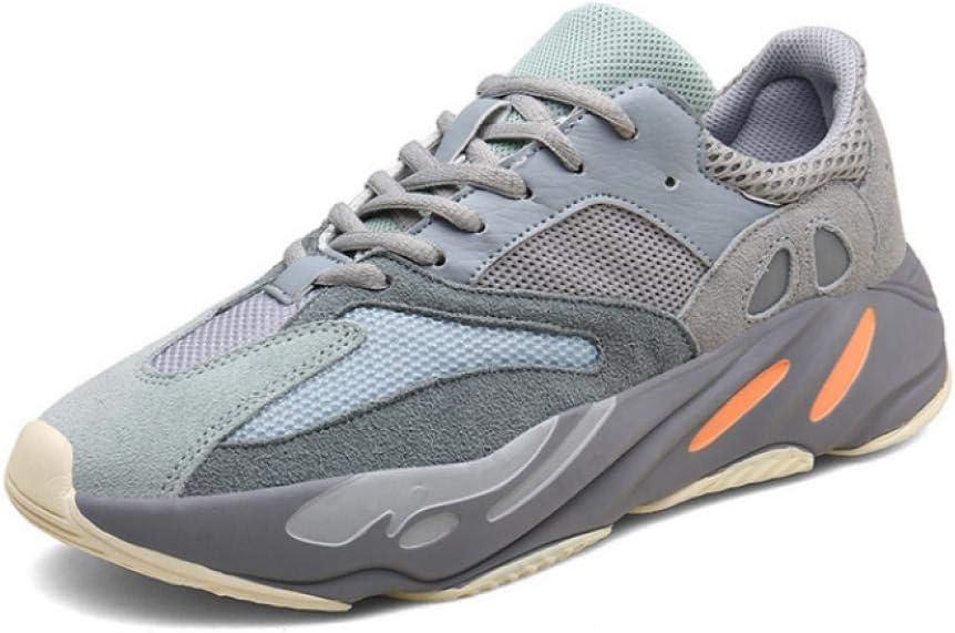 WAXFAS Mens Running Shoes, Sports Shoes, Mens Breathable Mesh Sports Shoes, Mens Running Shoes: Amazon.es: Deportes y aire libre