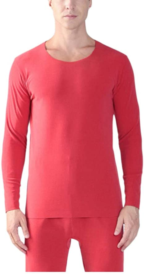 SGJKG Otoño e Invierno para Hombres, además de una Camisa cálida de Manga Larga sin Costuras de Doble Cara, Camisas térmicas, Ropa Interior térmica-4XL: Amazon.es: Deportes y aire libre