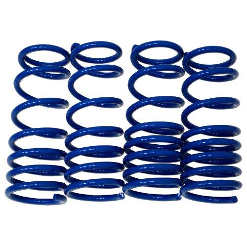 Ae86 Body Kit (TuningPros LS-043-B Lowering Springs Kit Blue Set of 4)