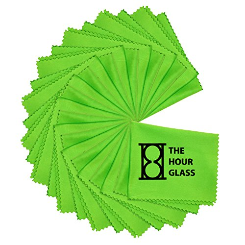 The Hour glass Microfiber Cleaning Cloths, 12 -