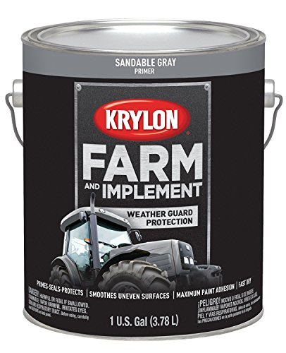 - Krylon 1981 Krylon Farm & Implement Paints Sandable Gray Primer 128 oz. Gallon Krylon Farm & Implement Paints