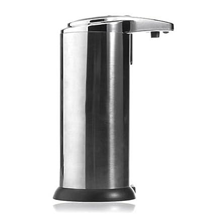 LEORX 280ML jabón manos libres automático dispensador de líquido desinfectante (plata)