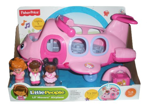 fisher price airplane pink - 1