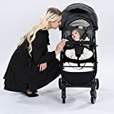 Costzon Lightweight Stroller with 5-Point Safety System and Multi-Positon Reclining Seat (Grey)