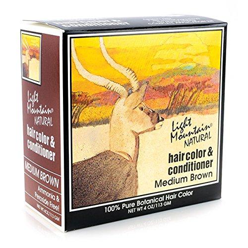 Light Mountain Henna Brown, 4 oz (Easy Henna)