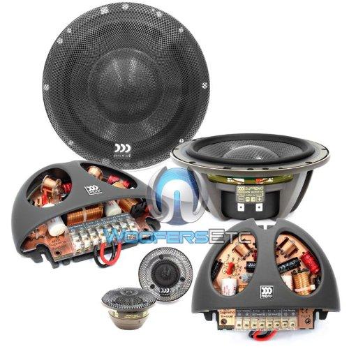 6 best high end 6 5 component car speakers 2017. Black Bedroom Furniture Sets. Home Design Ideas