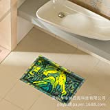3D to/Bathroom Slip-proof surface/lounge/Foyer/kitchen/dining/WC/water/anti-skid/cosmetic posters (5890cm)