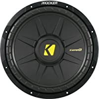 Kicker CompS 12 Inch 4 Ohm Subwoofer 40CWS124