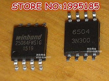 Shomy 1PCS W25Q64 W25Q64FW W25Q64FWSIG SOP-8 8M: Amazon in