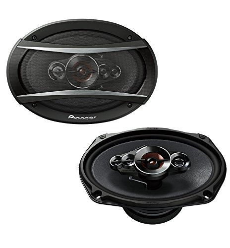 Pioneer TS-A6996S 6 Inch X 9 Inch 650W 5-Way Speakers (3 Pioneer 6x9 Way)