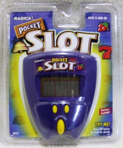 Radica Handheld Electronic Pocket Slot 7 Game