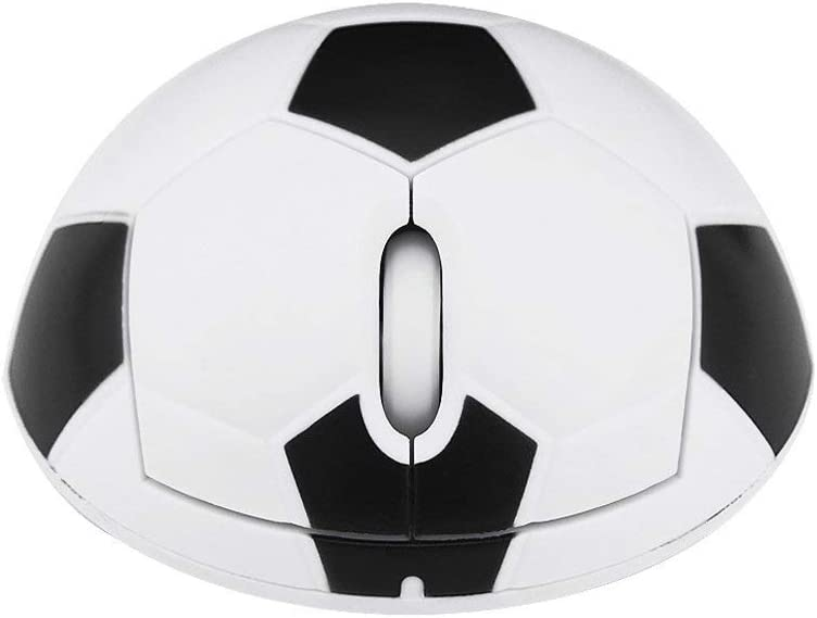 1200 dpi 3D Optical Ball Personality Football Mouse Suitable for SUB Equipment Mouse Winnes Wireless Battery Mouse PC Laptop Football