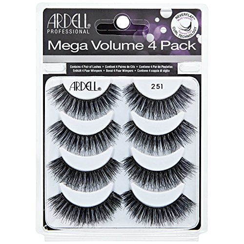 Mega Volume #251 Lashes 4 Pack