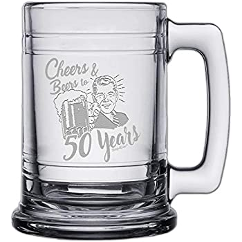 Amazon com | Laid Back CF11003 50th BD Vintage Dude Tankard