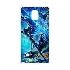 Samsung Galaxy Note 4 White phone case nami league of legends LOL8039559