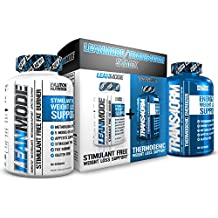Evlution Nutrition Trans4ormation Mode Stack Trans4orm (60 Serving), Lean Mode (50 Serving) Weight Loss Diet Kit