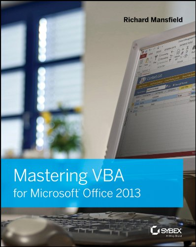 Download Mastering VBA for Microsoft Office 2013 Pdf