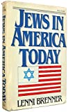 Jews in America Today, Lenni Brenner, 0818403799
