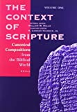 The Context of Scripture, , 9004135677