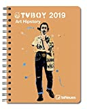 2019 TV Boy Deluxe Diary- teNeues - 16.5 x 21.6 cm (English, German, French, Italian and Spanish Edition)