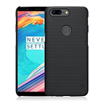 Oneplus 5T Case, AVIDET Shock-Absorption and Anti-Scratch Hard Back Case Cover for Oneplus 5T (Black)