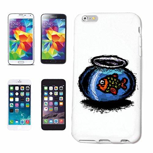caja del teléfono iPhone 6S FISH peces de colores en vidrio de la vendimia lifestyle manera STREETWEAR HIPHOP SALSA LEGENDARIO Caso duro de la cubierta Teléfono Cubiertas cubierta para el Apple iPho