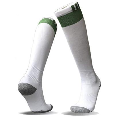 WADUANRUN Calcetines de fútbol para niños/Calcetines ...