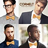100% Premium CORK Bow Tie Pretied Adjustable - The Perfect Gift for a Special Person and Wine Lovers by CorWelt