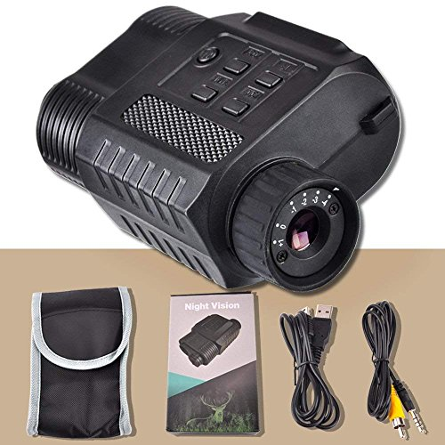 Night Vision Monocular, HD Digital Infrared Night Vision Hunting Monocular/Scope with Camera & Camcorder Function Takes Day and Night IR Photo & Video