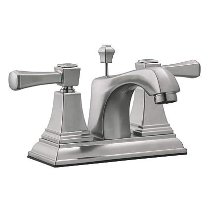 High Quality Design House 521997 Torino Centerset Bathroom Faucet, Satin Nickel