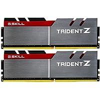 G.SKILL TridentZ Series 16GB (2 x 8GB) PC4-25600 3200MHz DDR4 288-Pin DIMM Desktop Memory (Gray)