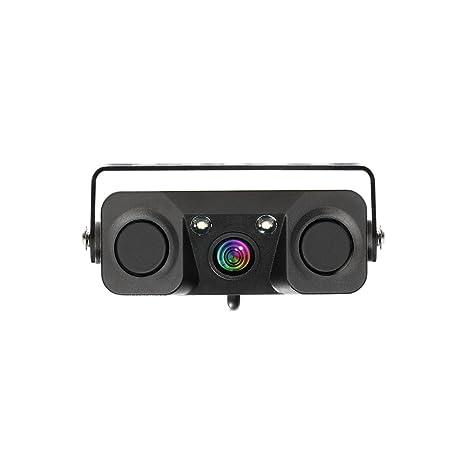 Rear View Monitors/cams & Kits 3in1 170°car Visual Reversing Rear View Camera With Radar Parking Sensor Ture 100% Guarantee