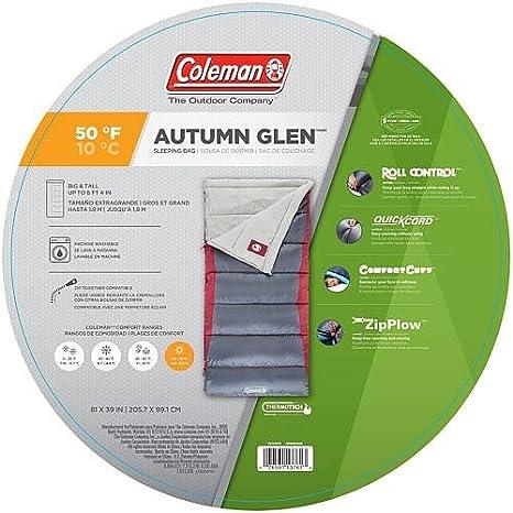 Coleman Otoño Glen 50 Big & Tall saco de dormir