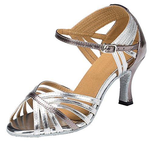 MGM Donna Ballerine Silver Joymod 5cm Heel 7 w44qHU