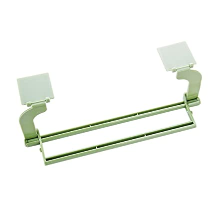 Rieles de stands estante estantería para baño toalla de baño ganchos baño Hardware anillos doble Bar