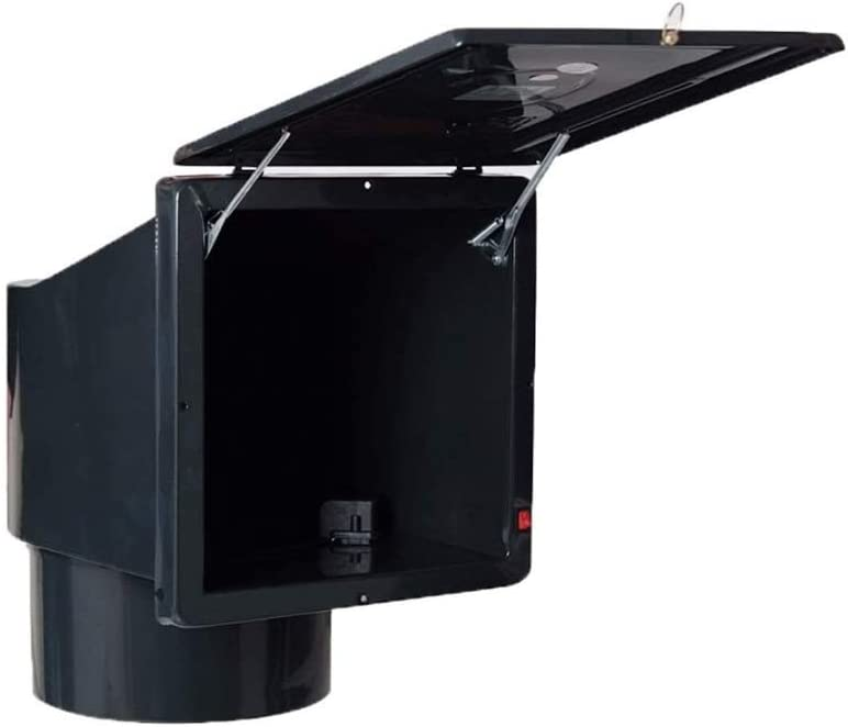 LXZDZ Extractor de cocina, Ventilador de ventilación, techo cuadrado de cocina Gas Inicio Potente ventilador de escape Silencio