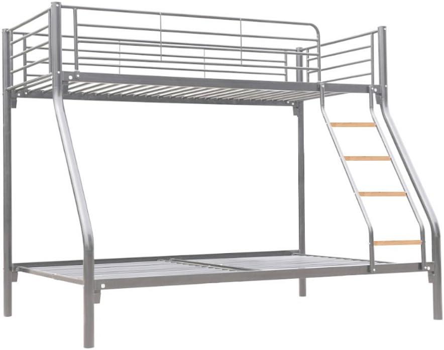 Litera triple de la marca Dirty Pro Tools TM con una cama individual y una doble, para que duerman 3 niños: Amazon.es: Hogar