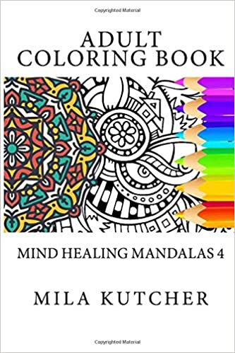 Buy Adult Coloring Book Mind Heaqling Mandalas 4 Stress Relieving Patterns Online At Low Prices In India
